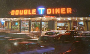 Post card of The Double T Diner in Baltimore, Maryland, c. 1960.