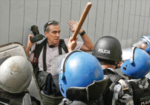 "Cover image from ""International Free Expression Review 2010,"" published by the Canadian Journalists for Free Expression."
