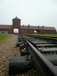 The railway tracks into the Nazis' Auschwitz-Birkenau concentration camp proved to be a one-way trip to extermination.
