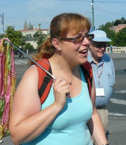 Czech Guide Veronika Smidova had reasons for preferring Canadian tourists.