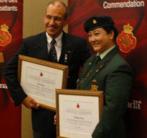 Author and Commendation recipient HooJung Jones.
