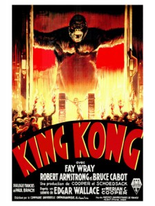 In the 1933 version of the classic film, King Kong was played by Carmen Nigro, an actor hired specially for his skill mimicking apes.