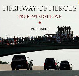 Pete Fisher began photographing along the Highway of Heroes, before it official earned that title.