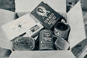 Most POWs said they wouldn't have survived wartime imprisonment were it not for the life-saving contents of the Red Cross parcels.