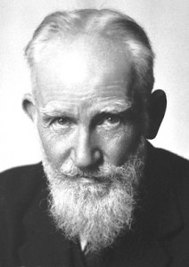 George Bernard Shaw earned the Nobel Peace Prize for literature, but didn't make many friends among teachers.