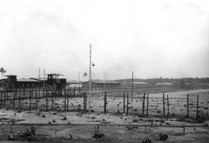 View across the southwest corner of North Compound, 1943.