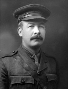 Col. Sam Sharpe campaigned for, financed and led the 116th Bn to war in 1916.