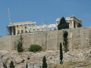 The Parthenon took six years to build, but 120 to restore.
