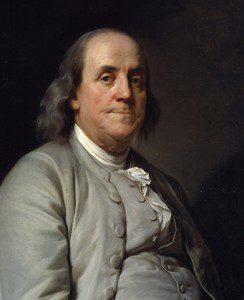 Parisian sunshine made Benjamin Franklin suggest they alter sleeping habits.