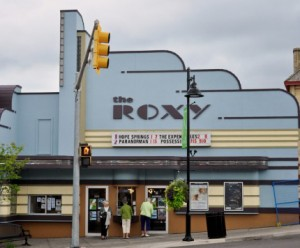 Proprietor Cathy Christoff is even proud of the recent paint job she did on the exterior of the Roxy.