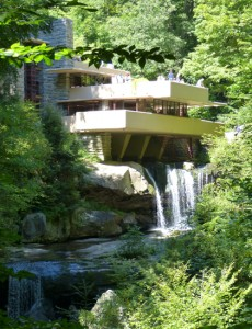 Budgeted for $35,000 (US), Fallingwater and guest house eventually cost $155,000 in the 1930s.