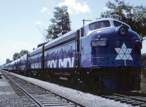 The Confederation Train in 1967 - Tim Reid Collection.