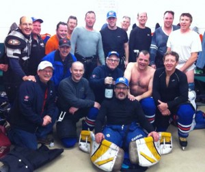 Uxbridge Oilies hockey club got some unexpected news at end of the old-timers tourney.