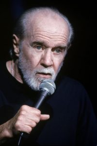 George Carlin introduced the world to the seven dirty words never allowed on the air. Photo - Stand Up Comedy Clinic