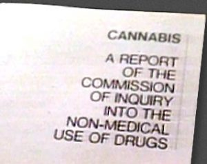 1972 Le Dain Commission Report